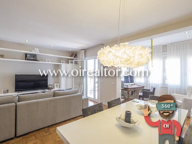 Appartement haut standing avec terrasse et parking dans le Quadrat d'or de Barcelone