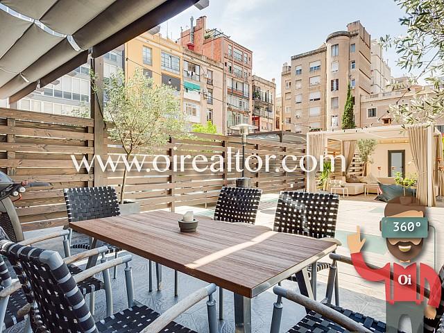 Elegante piso reformado con terraza de 120 metros en el Eixample Dreta, Barcelona