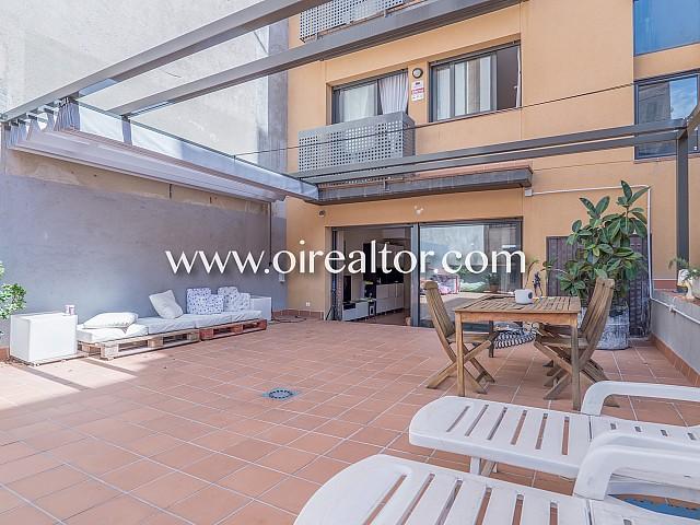 New-build duplex with 140 sq. m terrace in Horta, Barcelona
