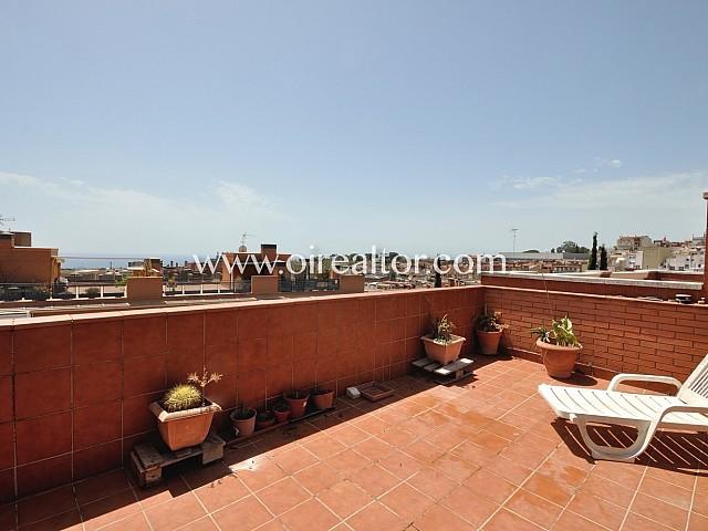 Magnífica casa adossada en zona alta de Mataró