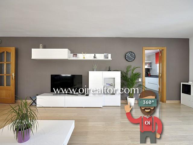 Precioso piso reformado con jardín en Dosrius