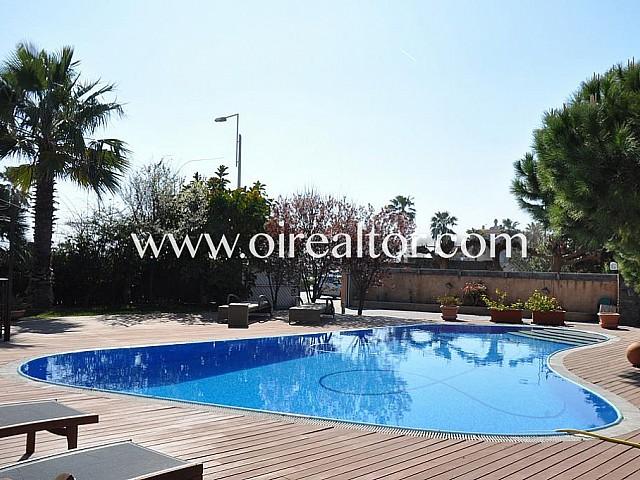 Gran casa en primera línea de mar de Castelldefels