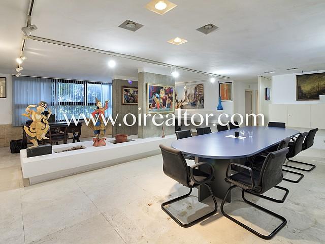 Magníficas oficinas junto al Real Club de Tenis Barcelona en Pedralbes