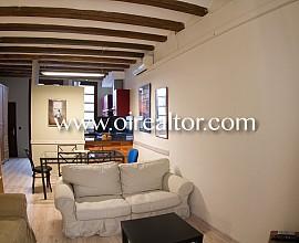 Acogedor piso en el barrio Gótico de Barcelona