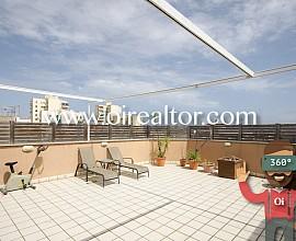 Fantástico piso con amplia terraza junto a la zona centro de Vilanova i la Geltrú