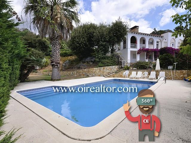 Preciosa casa con vistas al mar y piscina en Sant Vicenç de Montalt