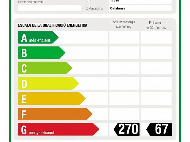 Etiqueta CERTIF ENERGETICO ETON