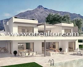 Espectacular villa de lujo con vistas al mar en la milla de oro de Marbella