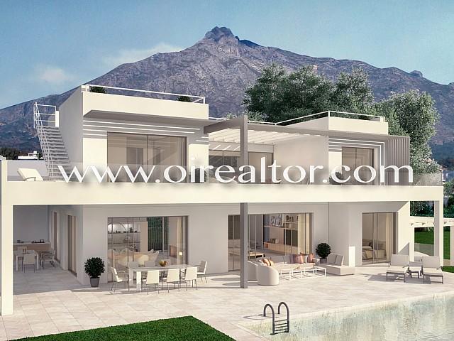 Espectacular vila de luxe amb vista sobre la costa de Marbella