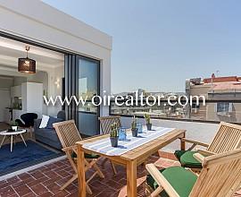 Magnífico sobreático con terraza en Aribau, Barcelona