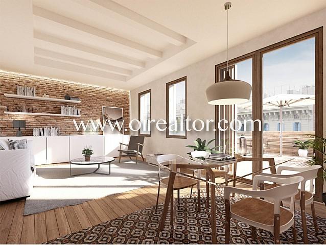 Penthouse-duplex with impressive terrace in Ciutat Vella, Barcelona
