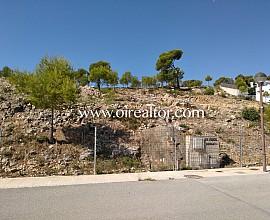 Terreno con vistas al mar en Can Girona, Sitges