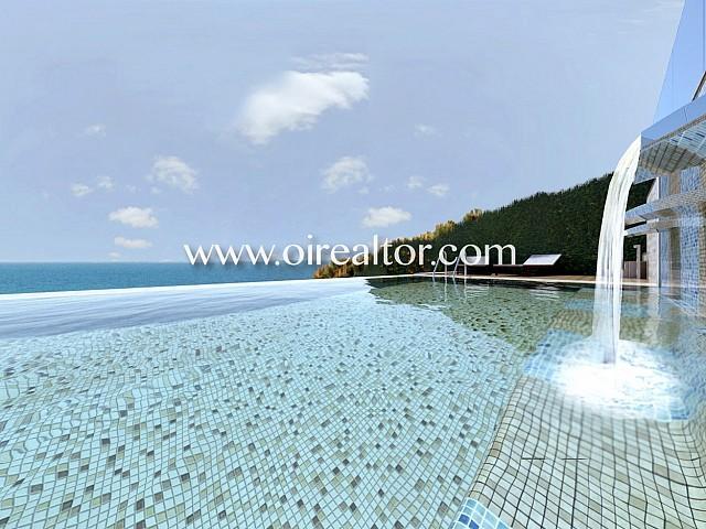 Exclusiva villa en venta en primera línea de mar en Arenys de Mar