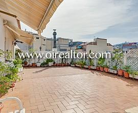 Grand penthouse duplex à Gracia, Barcelone