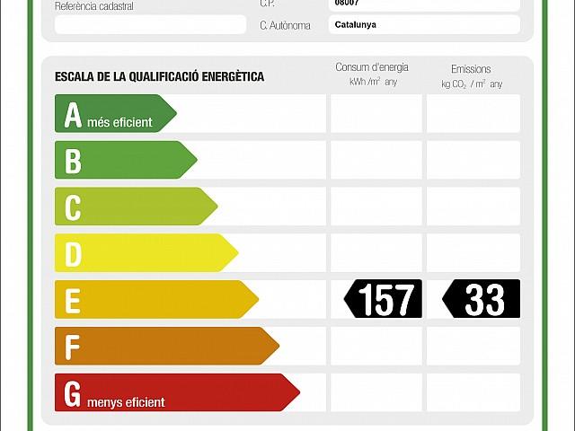 atico en venta en barcelona energético
