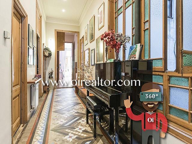 Ausgezeichnete Wohnung zum Verkauf in einem Jugendstilgrundstück in Eixample Dreta, Barcelona