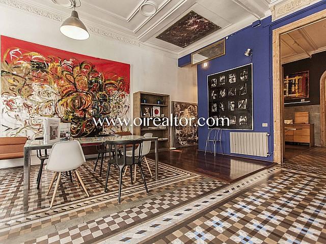 壮观的现代主义平在兰布拉加泰罗尼亚,巴塞罗那出售