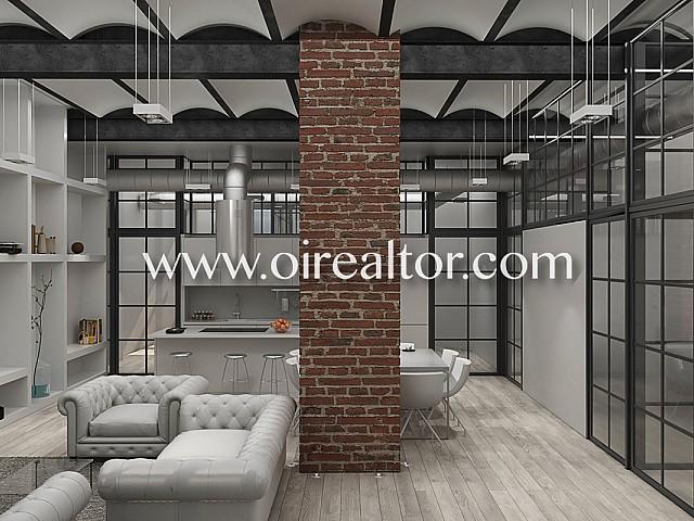 Spectacular design loft for sale in Sant Gervasi, Barcelona