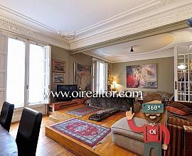 Elegante und herrschaftliche Wohnung in einem prächtigen Grundstück in Eixample Dreta