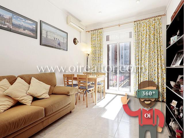 Preciós i lluminós apartament a la venda a l'Eixample Esquerra, Barcelona