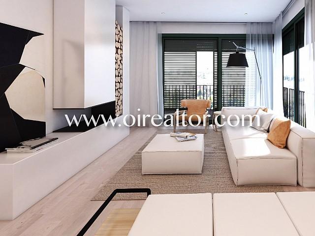 Herrliches neues Erdgeschoss in Gracia, Barcelona