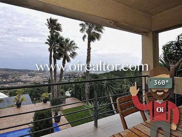 Casa en venda amb vista a Alella, Maresme