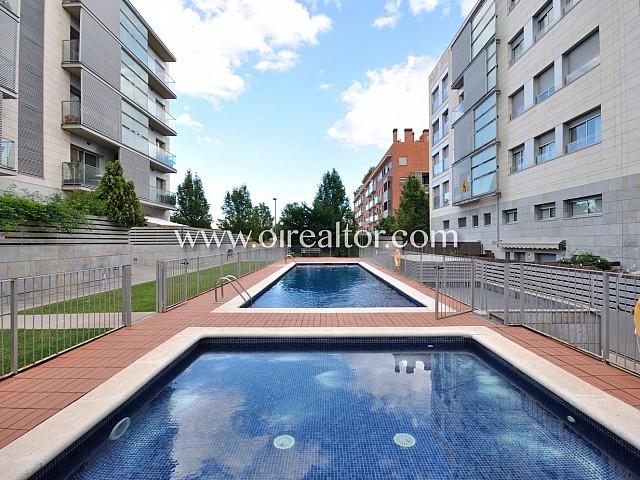 Bonic i lluminós pis en venda Volpelleres, Sant Cugat