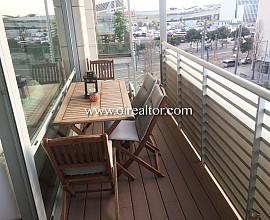 Estupendo apartamento en Diagonal Mar, Barcelona