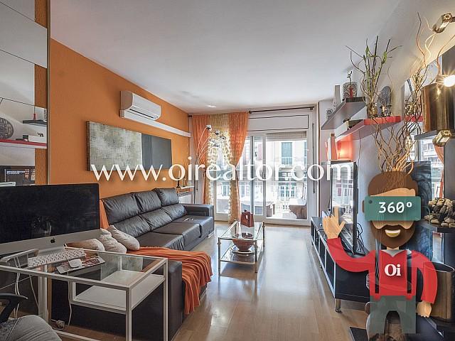 Luminoso y amplio piso a la venta en Fort Pienc, Barcelona