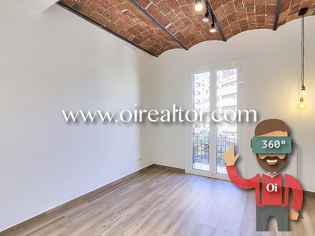 Magnífico apartamento reformado a estrenar a la venta en Poble Sec, Barcelona