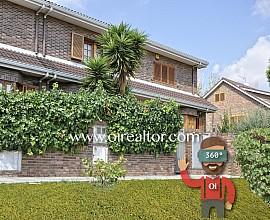 Casa pareada con vistas al parque de Montigala, Badalona