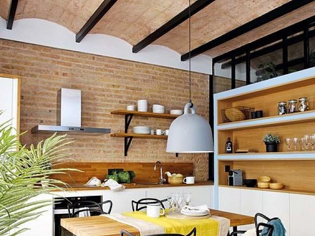 Espectacular piso reformado en el vibrante Poble Sec