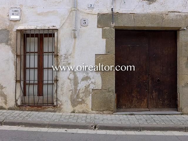 Casa de pueblo centenaria en venta en el centro de Sant Andreu de LLavaneres