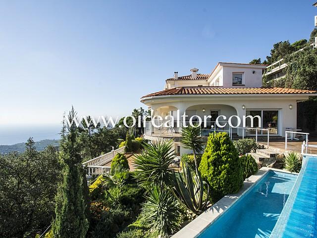 Oportunidad! Lujosa villa en Serra Brava a pocos minutos de Lloret de Mar, Costa Brava