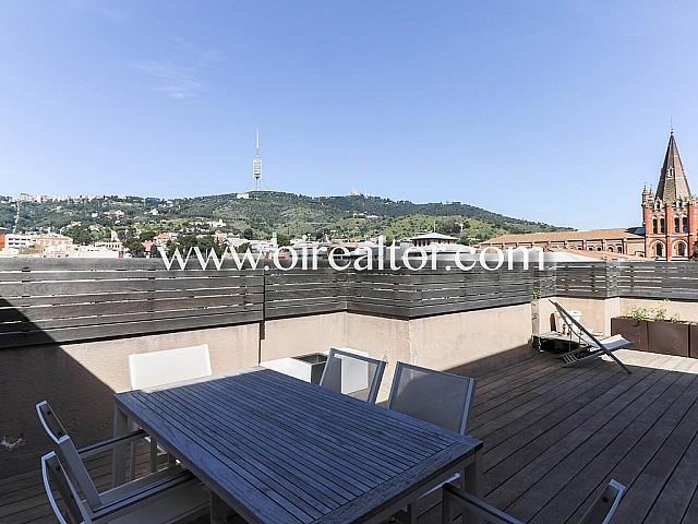 Hervorragendes Duplex-Penthaus in Sarrià, Barcelona