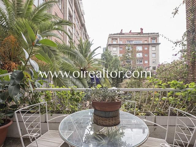 Beau duplex avec vue sur les espaces verts de Galvany, Barcelone