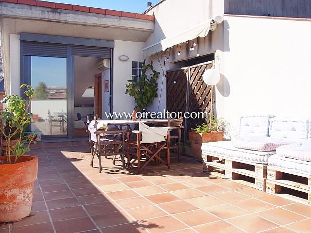 Bonito Ático dúplex único en venta, de 115m2 con preciosa terraza e inmejorables vistas cerca de los FGC, Sant Cugat del Vallés