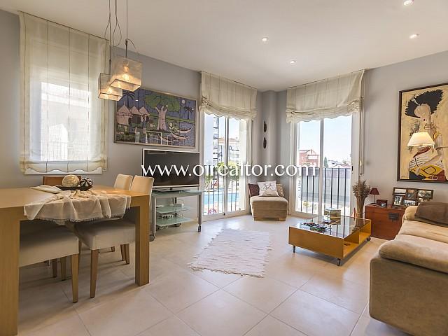 Fantástico piso en venta todo exterior y listo para entrar a vivir en el centro de Sitges