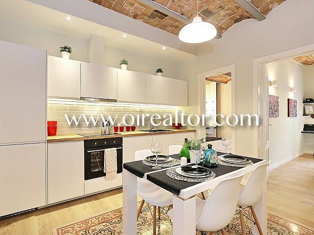 Acogedor y moderno piso en venta reformado a la venta en Poble Sec, Barcelona