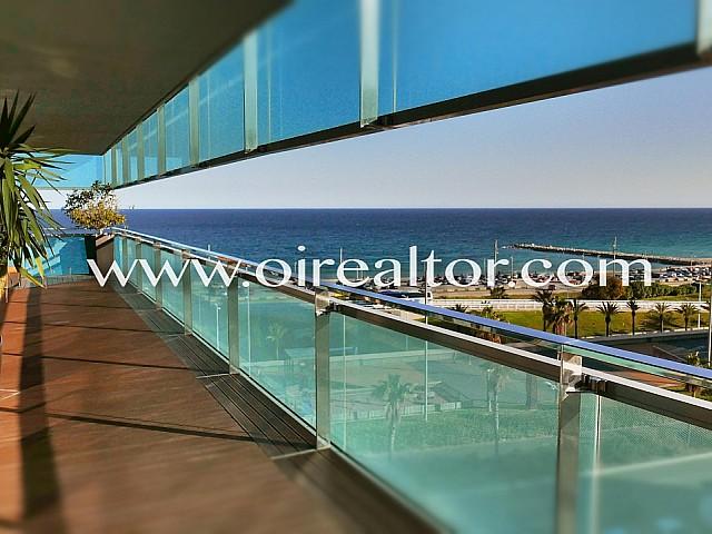 Espectacular piso en venta con vistas al mediterráneo en Diagonal Mar, Barcelona