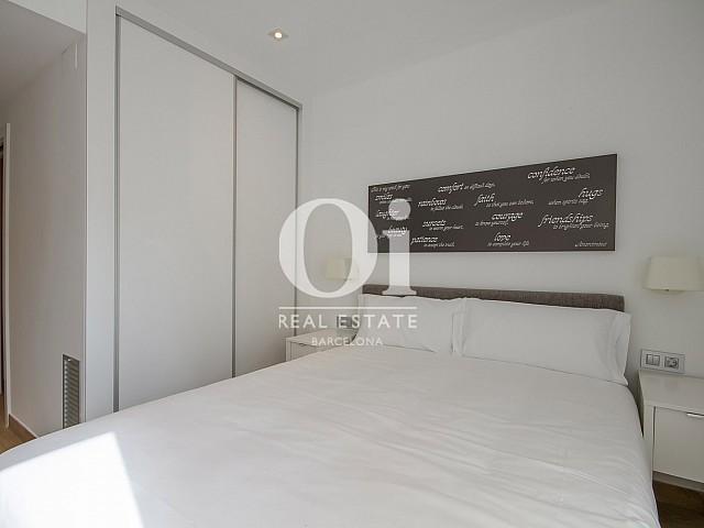 Dormitorio doble de dúplex en alquiler en Poblenou, Barcelona