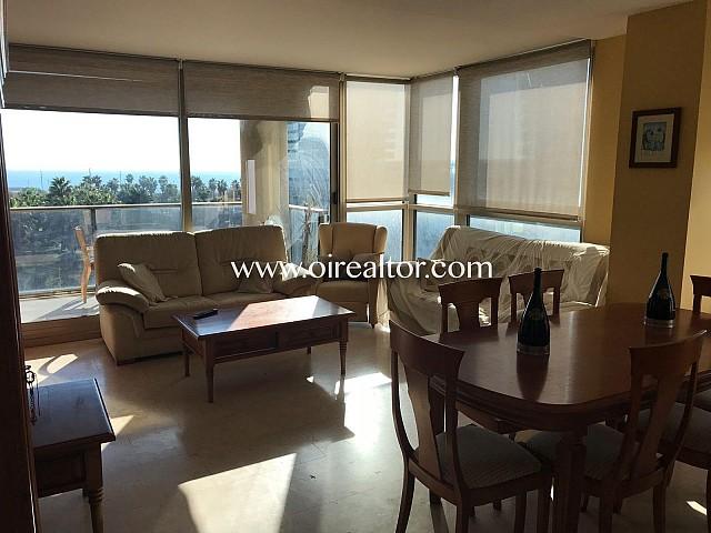 Espectacular piso en alquiler con vistas al mar mediterráneo en Diagonal Mar, Barcelona