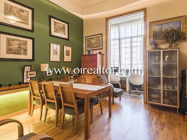 Magnifique appartement à vendre dans propriété moderniste de l'Eixample Droit, Barcelone