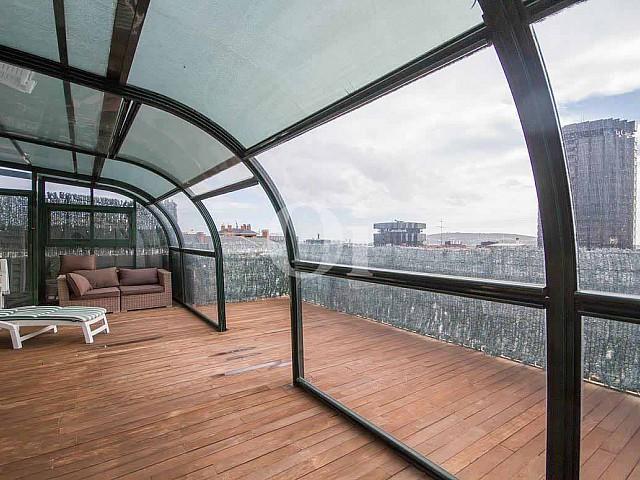 Spectaculaire duplex penthouse à vendre à Pedralbes, Barcelone