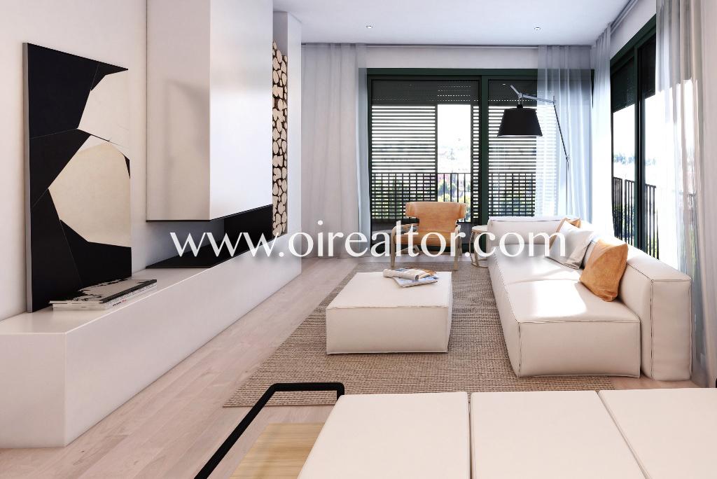Fant stico piso de obra nueva con terraza en gracia for Pisos obra nueva barcelona