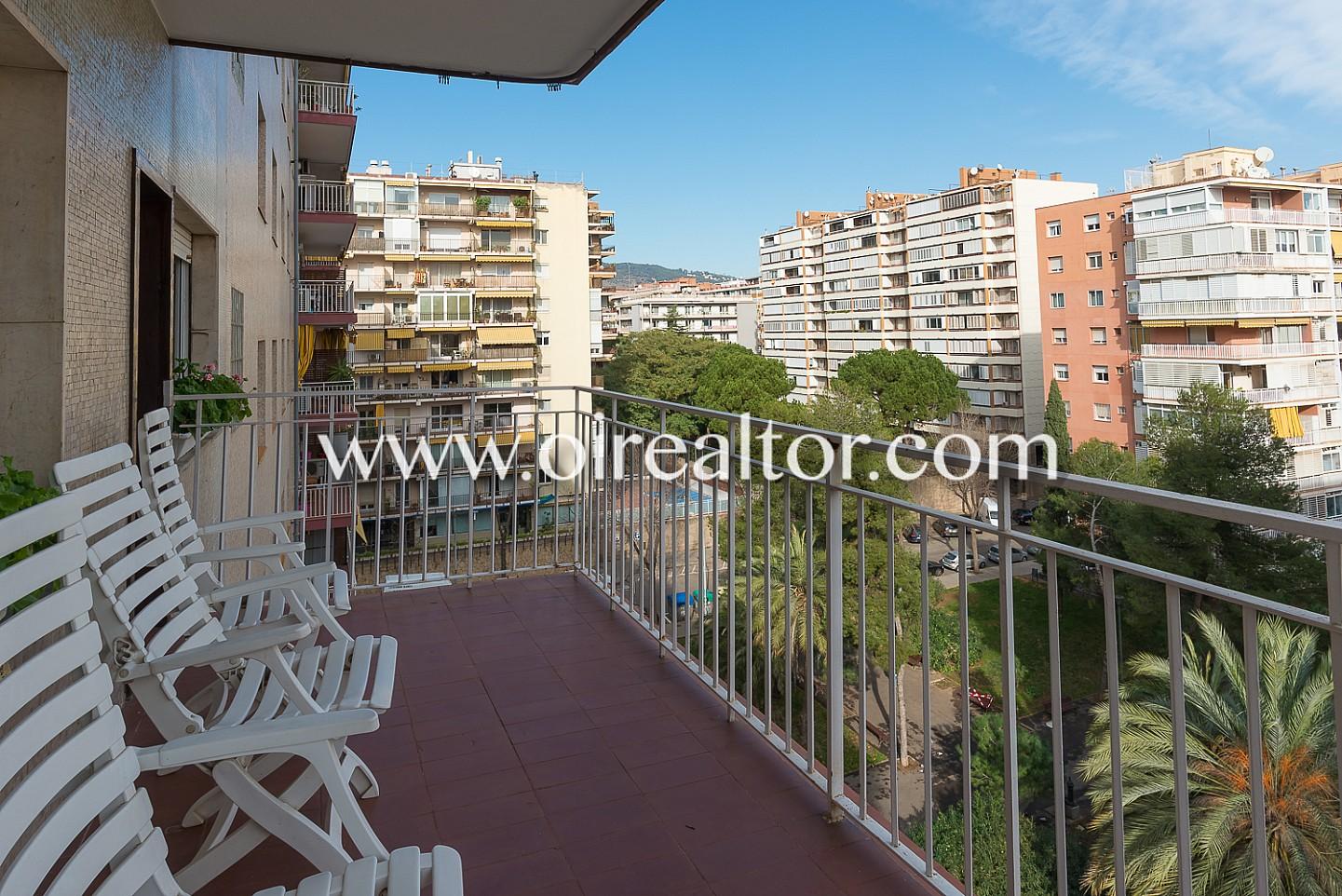 Piso alto y luminoso con terraza en pedralbes barcelona - Piso en pedralbes ...