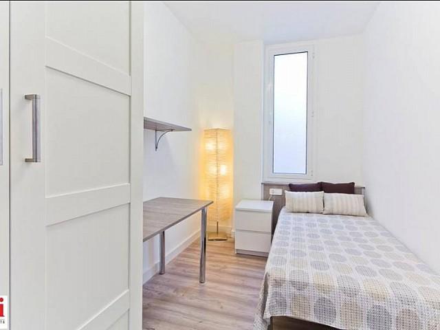 Chambre individuelle cosy dans appartement luxueux en location à Barcelone