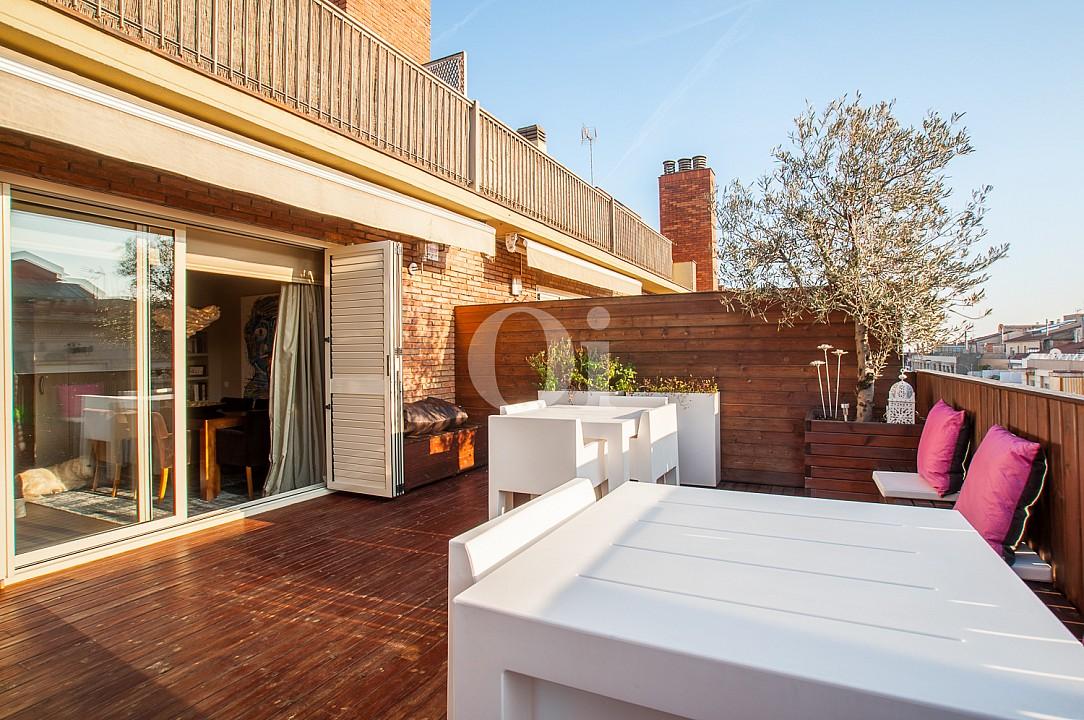 Magnifico tico de lujo en venta con una gran terraza en - Atico terraza barcelona ...