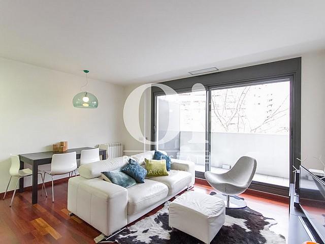 Sala de estar de piso en venta en Diagonal Mar, Barcelona