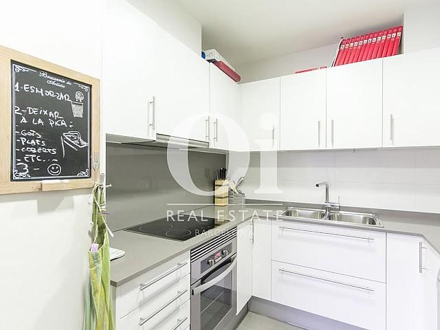 Cocina de piso en venta en Diagonal Mar, Barcelona